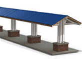 New Steel Shade Shelter Designs
