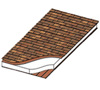 Cedar Shakes roof over stuctural insulated panel